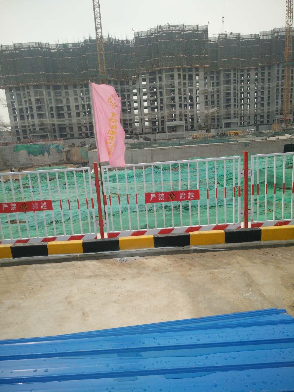 北京城建—竖管基坑防护栏施工案例